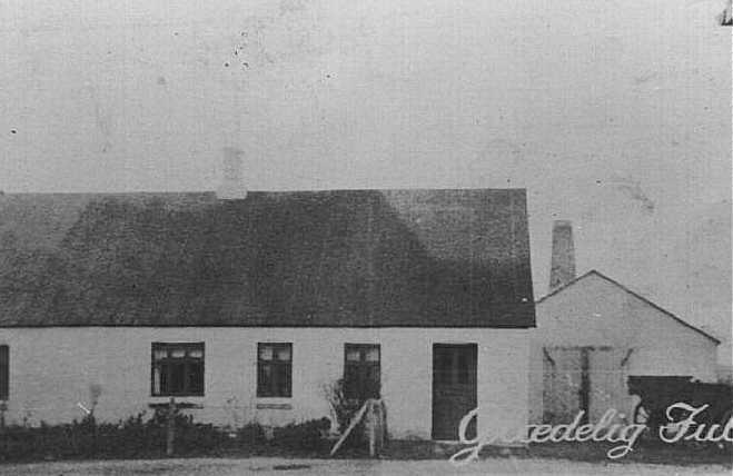Ole Lukassens hus og smedie, ca. 1920-30