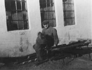 Smedemester Ole Lukassen, ca. 1950-60