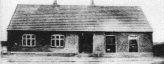 Snedker Kr. Hansens forretning i Klim, ca. 1920