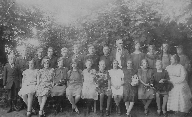 Konfirmation V. Thorup, 4.10.1925
