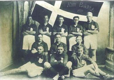Klim Boldklub - fodbold, 1934.