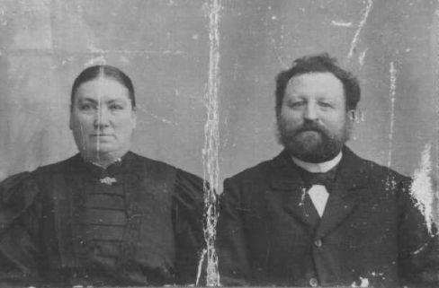 Aksel Jensen og hustru.