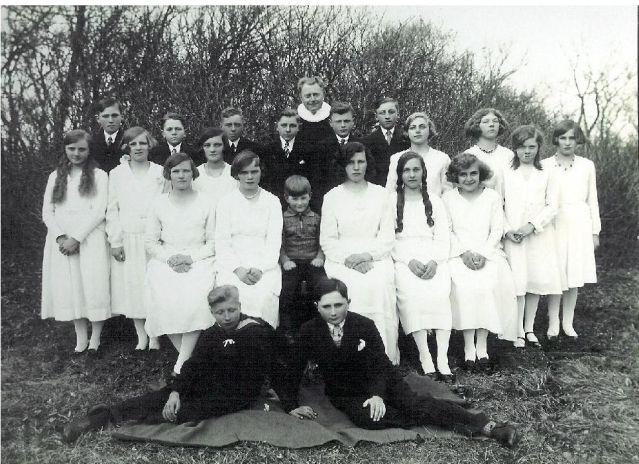 Konfirmation 1932
